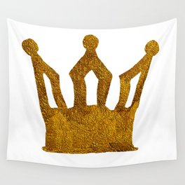 Golden Crown I Wall Tapestry