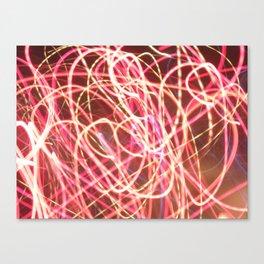 corazón luz Canvas Print