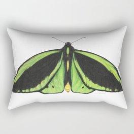 Cairn's birdwing butterfly Rectangular Pillow