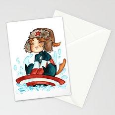 winter - steve Stationery Cards