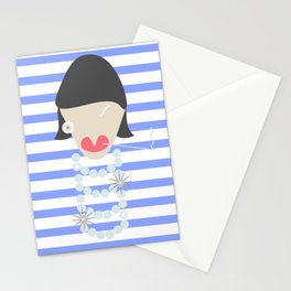 FRENCH FASHION ICON Stationery Cards