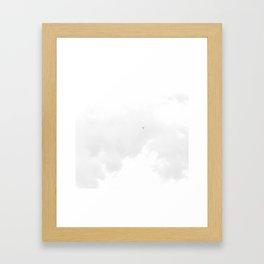 Sky high. Framed Art Print
