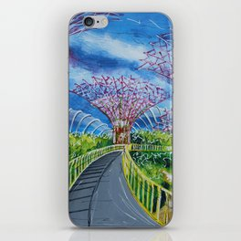 Super Supertrees iPhone Skin