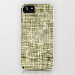 Ink Weaves: Citrine iPhone Case