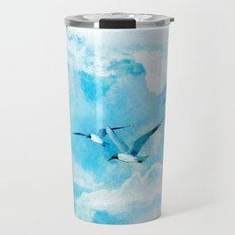 Flying birds Travel Mug