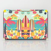 tiki iPad Cases featuring Tiki by Claire Lordon