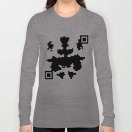 Modern Rorschach Test Long Sleeve T-shirt