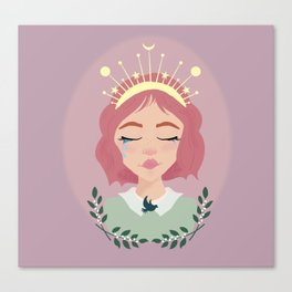 Mother Peace Canvas Print