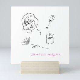 Romance Yourself Mini Art Print