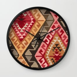 Sunset Kilim Wall Clock