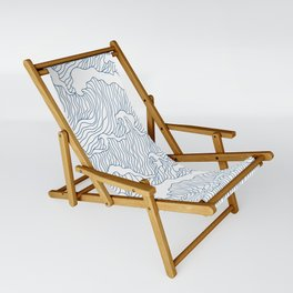 Japanese Wave Sling Chair