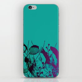 turquoise underwater iPhone Skin