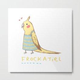 Frockatiel Metal Print