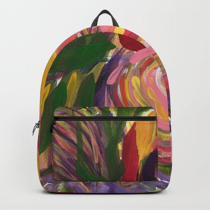 Thistle Bloom Backpack