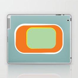 Mod Pod -Retro Turquoise Orange Laptop & iPad Skin