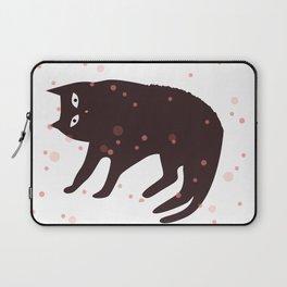 Tickle My Tum Cat Laptop Sleeve