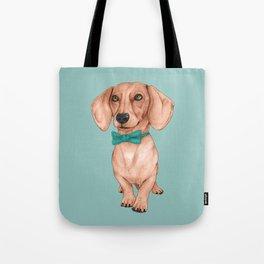 Dachshund, The Wiener Dog Tote Bag