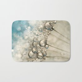 Sapphire & Silver Sparkle Bath Mat