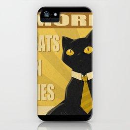 Cats in Ties - PSA iPhone Case