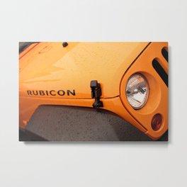 Jeep Rubicon Metal Print