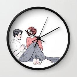 Tony and Nat  Wall Clock