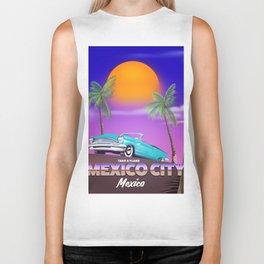 "Mexico City - ""Mexican nights"" version Biker Tank"