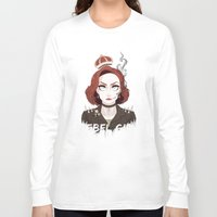 dana scully Long Sleeve T-shirts featuring Punk Scully by Sutexii