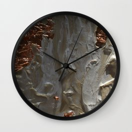 Copper and Pearls Wall Clock