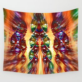 Wind Chimes Wall Tapestry