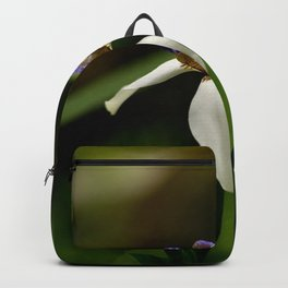 Solitary Violet Iris Backpack