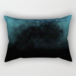 Unmerciful Blue Rectangular Pillow
