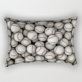 Baseballs Rectangular Pillow
