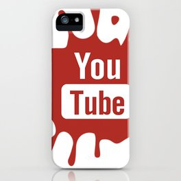 youtube youtuber - best designf or YouTube lover iPhone Case