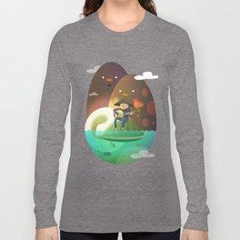 Island Lullaby Long Sleeve T-shirt
