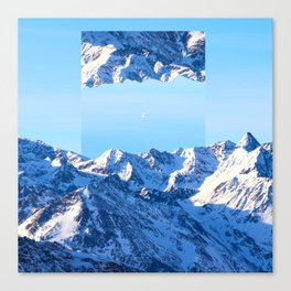 Interdimensional Travel Canvas Print