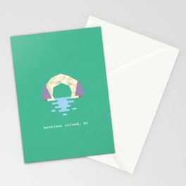Arch Rock Stationery Cards