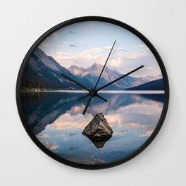 Medicine Lake Wall Clock