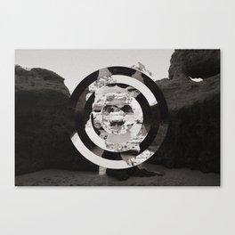 Algarve in Circles Canvas Print