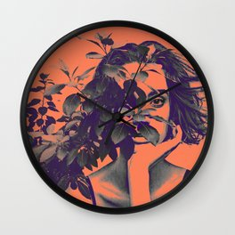 BehindPlant. Wall Clock
