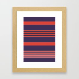 Small Alison Clothes Framed Art Print