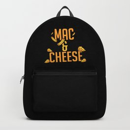 Mac And Cheese   Favorite Food Delicious Tasty Backpack