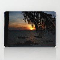 buddah iPad Cases featuring Sunset from the Big Buddah Café by Ciaran Mcg