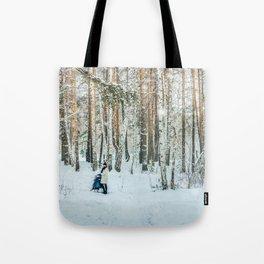 Snow white story Tote Bag