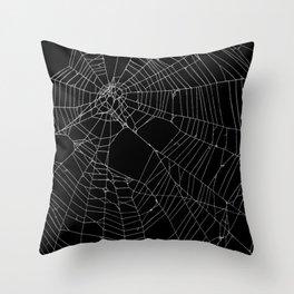 SpiderWeb Web Throw Pillow