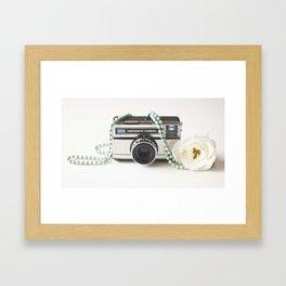 Camera Addiction  Framed Art Print