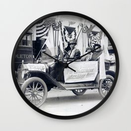 Women's Suffrage Movement in Oregon (September 23, 1916) Wall Clock