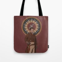 captain Tote Bags featuring Captain by mycolour
