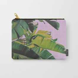 Banana Leaves I (Lavender) Carry-All Pouch