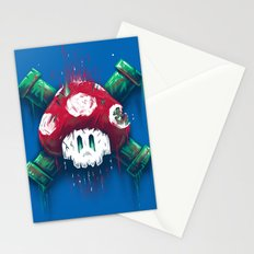 Mushroom Skull Stationery Cards