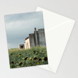 Abandoned house in the Pampa house in the Pampa. Stationery Cards